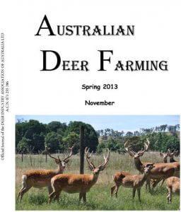 Australian Deer Farming  November 2013