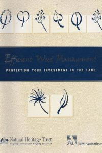 effective weed management book