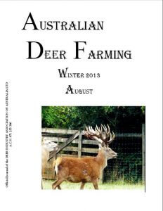 Australian Deer Farming  August 2013