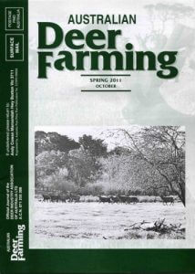 Australian Deer Farming Magazine Cover 2011 10