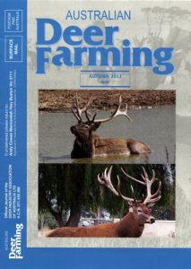 Australian Deer Farming Magazine Cover 2012 05