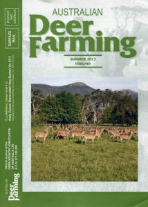 Australian Deer Farming cover 2013 02