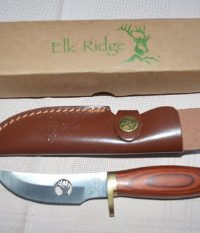 Elk Ridge Full Tang Brass Guards Knife