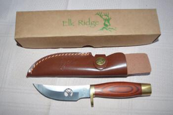Elk Ridge Full Tang Brass Guards Knife