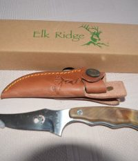 Elk Ridge Maple Full Tang Skinner Knife
