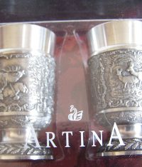 SKS Artina Pewter Shot Glasses set of 2