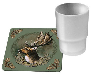 wildzone coasters set of 6