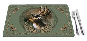 wildzone placemats fallow deer